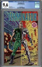 Terminator #1 CGC 9.6 NM+ WHITE PAGES