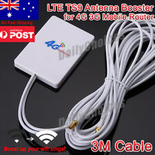 LTE Double TS9 Antenna Booster Amplifier Signal 28dBi for 4G 3G Mobile Router AU