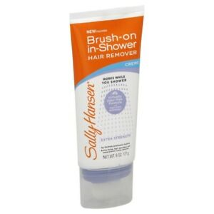 Sally Hansen Extra Strength Brush-On in Shower Hair Remover Creme 6 Oz