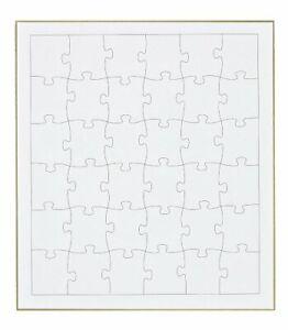36 piece jigsaw puzzle colored paper puzzle