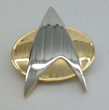 "Star Trek TNG Authentic Full Size 2"" COMMUNICATOR PIN (BEST PRICE ON EBAY)"