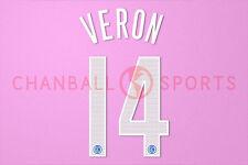 Veron #14 2004-2006 Inter Milan Homekit Nameset Printing