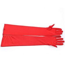 Rote Brauthandschuhe
