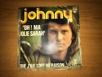 VINYLES JOHNNY HALLYDAY 45 TOURS