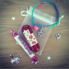 Party bag gift set unicorn / kimono doll bag fillers lip balm bracelet sweets