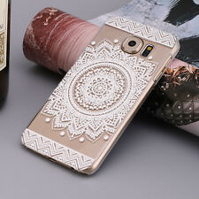 Campanula Mandala Floral Dream Catcher Case Cover for Samsung Galaxy S7