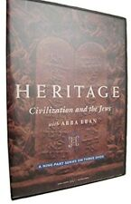 Heritage Civilization and the Jews Abba Eban Nine Part Series Three DVDS 2001