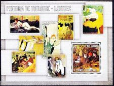 Sao Tome 2006 MNH MS, 1889 Ball at Moulin de la Galette Painting by Lautrec (n)