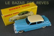 DINKY TOYS FRANCE. BUICK ROADMASTER. REF: 24 V. + Boite. (bleu/crème) (lot2)