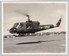 1950's Original BELL XH-40 / UH-1 PROTOTYPE Helicopter US ARMY Photo