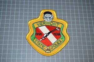 Vermont State Police Dive Team Patch (B17-8)