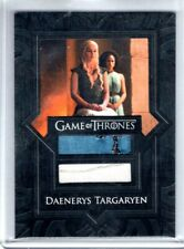 2017 Game of Thrones Season 7 DAENERYS TARGARYEN Dual Relic DRESS/SHIRT #VR6 SSP
