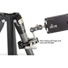 "SUNWAYFOTO camera light holder/stand magic arm W/ Titan Clamp 1/4"" F/ shooting"