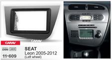 CARAV 11-609 Car Radio Fascia Stereo Trim Dash Kit for Seat Leon (left Wheel)