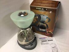 Black & Decker Infuze VB100 Coffee Maker - Tested Makes Great Coffee Vacuum Brew
