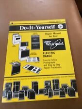 1986 Whirlpool Gas/Electric Dryer Step-by-step Do-It-Yourself Repair Manual