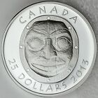Canada 2013 $25 Grandmother Moon Mask Ultra High Relief Pure Silver Proof Coin