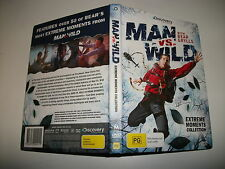 Man Vs Wild - Extreme Moments (DVD, 2011) Region 4 DVD Used in VGC Bear Grylls