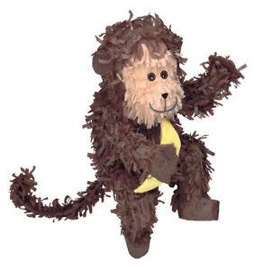 Monkey Pinata - Jungle Animal Themed Birthday Party Supplies