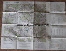 Landkarte Gillenfeld 5807 Edition 5-AMS Vulkaneifel USAREUR Eifel 1956 map carte