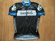 Garmin Cervélo Pro cycling team 2011 Aero Race Jersey Castelli Size:2XL NEW RARE