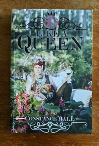 Like A Queen, Constance Hall, Memoir, softcover, 270 pages, VGC