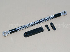 Black Round Edge Cut Gear Shift Link Linkage For Harley Touring Dyna Softail New