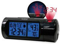 La Crosse Technology  5-1/4 in. L x 3-1/2 in. H Silver  Digital  Alarm Clock
