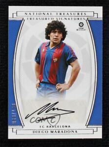 2020-21 Panini Chronicles Treasured Signatures 68/199 Diego Maradona #TS-DM Auto