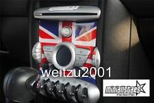 Union Jack Radio Badge Trim for 2007-2010 MINI COOPER S ONE JCW COOPER R55-R58