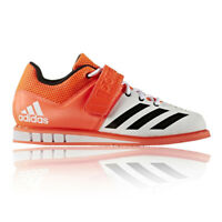 Adidas Powerlift 3 Mens Orange Weightlifting Sports Shoes Trainers Pumps