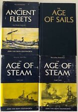 War at Sea by Southworth, FOUR Books: Age of Sails, Age of Steam, Ancient Fleets