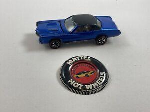 Hot Wheels Redlines - US Blue Custom Eldorado - Champagne / Brown Interior.