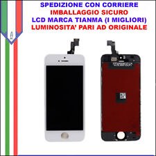 Schermo Display LCD Touch Apple Iphone 5s Bianco Originale TianMa OEM Vetro AAA
