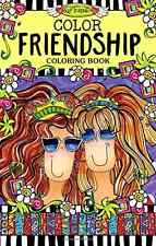 Color Friendship Coloring Book by Suzy Toronto Use of Color [Paperback]  BAM .