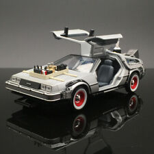 Welly 1/24 Delorean diecast car model in movie Back to Future 3 III Time machine