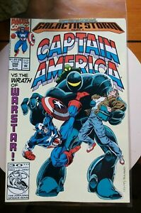 Captain America (1968 series) #398. Marvel comics.  1992 30th Anniversary