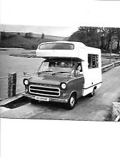 FORD TRANSIT MOTORHOME PRESS PHOTO 'Brochure' 1976