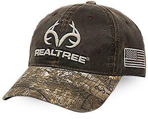 Realtree Edge Brown Camo Cap