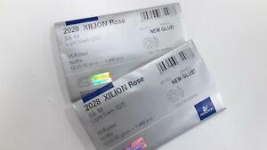 2 sealed package,2880 swarovski xilion hot-fix flatbacks,10ss light siam #2028