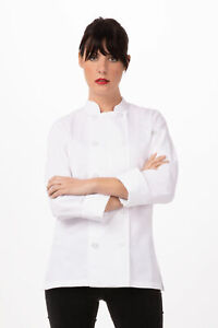 Chef Works Womens Le Mans Chef Coat (BCW004)
