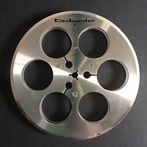 Vintage Dokorder Metal 7-Inch Take-Up Tape Reel Empty for reel to reel