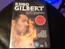 Rhod Gilbert The Man With The Flaming Battenberg Tattoo Live DVD - New & Sealed