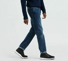 RRP $168 Levi's Made & Crafted 511 Slim Fit Selvedge Blue Jeans Size W28 L32