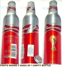 2010 ARGENTINA DECAL UK WORLD CUP SOCCER BUDWEISER ALUMINUM BOTTLE BUD BEER CAN