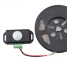 DC12V-24V 8A Automatic Infrared PIR Motion Sensor Switch LED Strips Light ASS