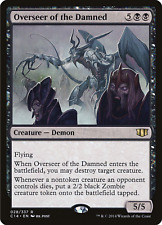 Magic the Gathering (MTG) Overseer of the Damned - Commander 2014 - Black