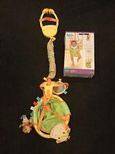 NEW! Taggies Neutral Safari Explorer Door Doorway Baby Jumper Jump Exerciser Toy