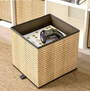 IKEA GNABBAS Storage Box Shelf Folding Organiser Kallax Shelving Expedite Drona✅