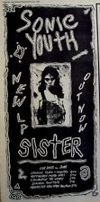SONIC YOUTH 1987 Advert SISTER